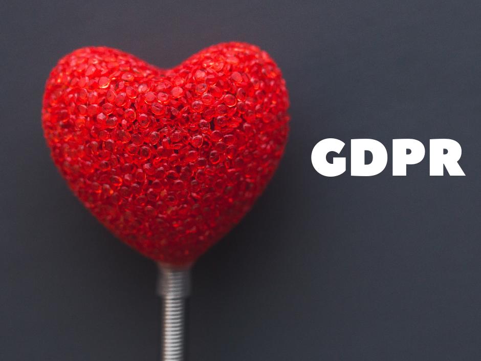 GDPR srdce