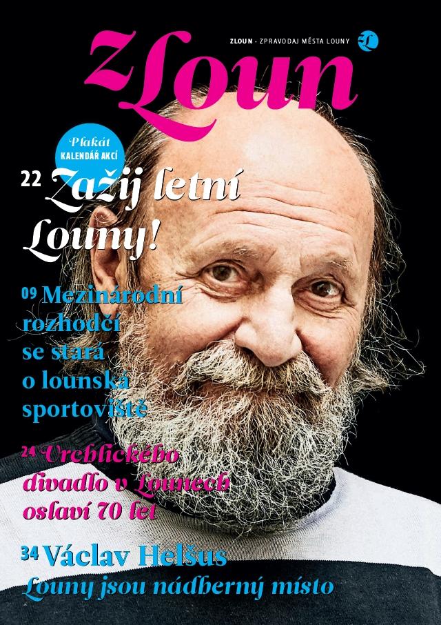 Titulní stránka časopisu Zloun