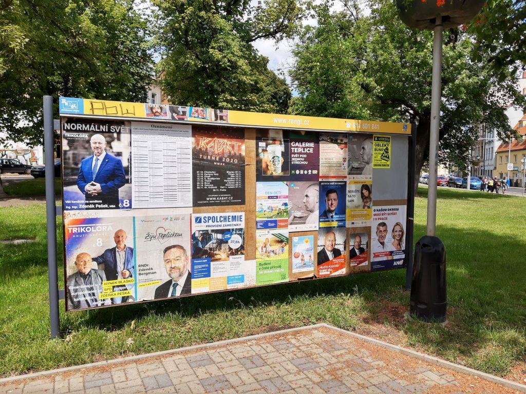 volební plakáty