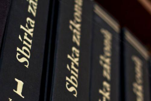 Sbírka zákonů - ilustrační obrázek